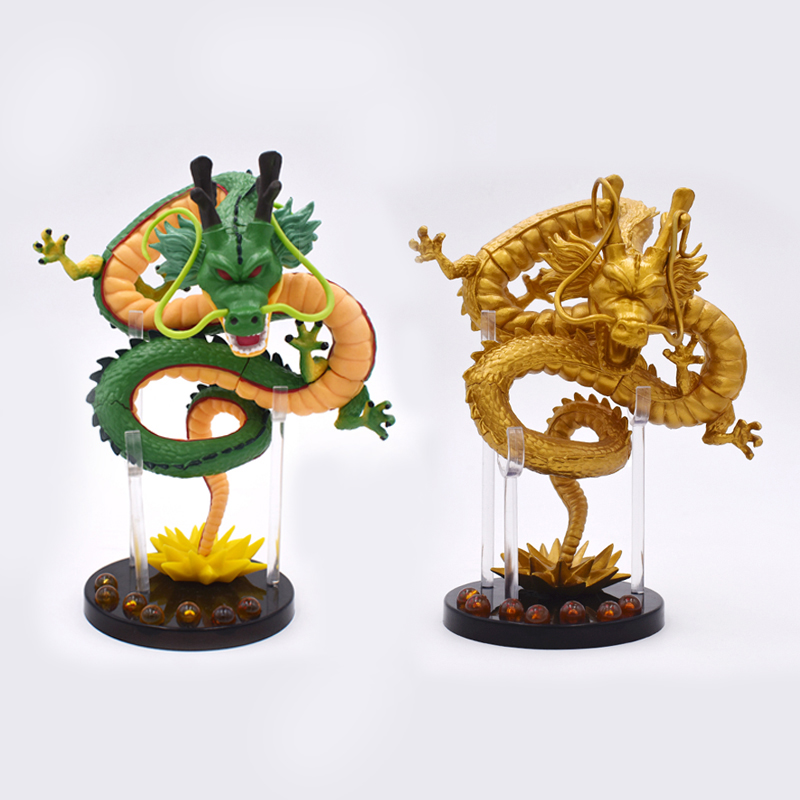 Anime 15 CM Dragon Ball Z ShenRon ShenLong Ultimate Shenron Siyah Yıldız Dragon Ball Destan PVC Action Figure Koleksiyon Modeli oyuncak